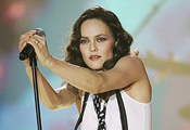 Vanessa Paradis in Concert at The Orpheum Theatre in LA in February