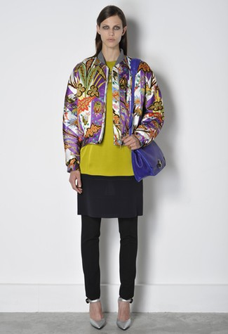 Balenciaga Goes Plaid, Floral, and Even a Little Retro For Pre-Fall 2011