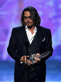 Johnny Depp Makes a Surprise Appearance and Scores a Robert Pattinson Upset at People's Choice Awards!