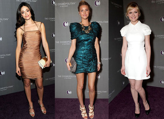 Pictures of Celebrity New Year's Eve Outfits including Blake Lively, Whitney Port and Kim Kardashian
