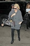 Jessica Simpson Toes the Line in the Big Apple