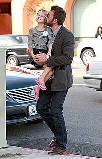Pictures of Ben Affleck and Jennifer Garner With Violet in LA