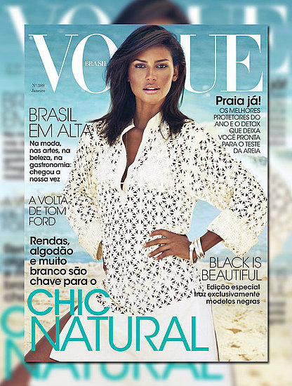Covering this month's Vogue Brazil.