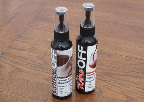 Household Supplies Review: Wine Off and Coffee Off Remover Sprays