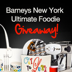 YumSugar and Barneys Ultimate Foodie Giveaway Winners