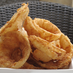 Thick Versus Thin Onion Rings