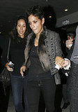 Halle Berry Sparkles on a Girls' Night Out