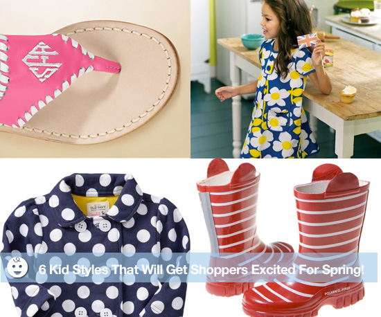 6 Kid Styles That Will Get Shoppers Excited For Spring!