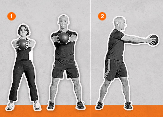 Medicine Ball Rotation