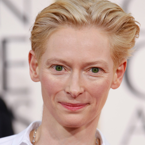Tilda Swinton at Golden Globes 2011