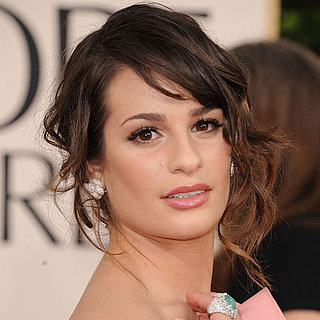 Lea Michele at 2011 Golden Globes