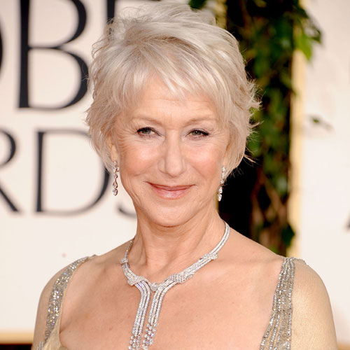 Helen Mirren at Golden Globes 2011