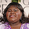Gabourey Sidibe at 2011 Golden Globes