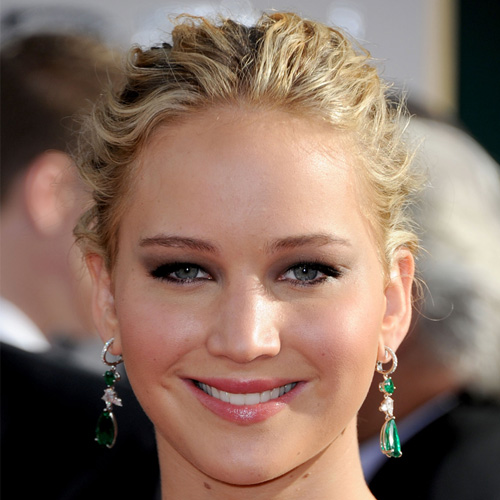 Jennifer Lawrence at Golden Globes 2011
