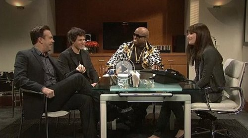 Gwyneth Paltrow and Cee-Lo on Saturday Night Live Review