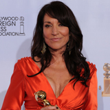 Katey Sagal Wins the Golden Globe For Best Actress in a TV Drama Series