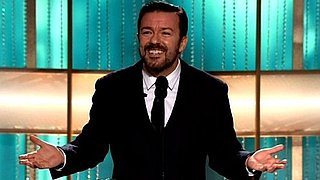 Ricky Gervais Golden Globe Opener Video