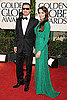 Pictures of Brad Pitt and Angelina Jolie in Versace on Golden Globe Awards Red Carpet 2011-01-16 16:45:38