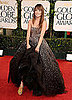 Pictures of Olivia Wilde on the 2011 Golden Globe Red Carpet Wearing Marchesa 2011-01-16 15:26:35