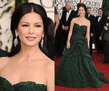Catherine Zeta-Jones at 2011 Golden Globe Awards
