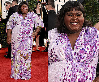 Gabourey Sidibe at 2011 Golden Globe Awards 2011-01-16 15:04:16