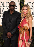 Heidi Klum and Seal Samuel