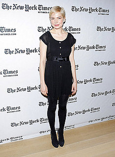 Pictures of Michelle Williams Strolling in NYC and at a NYTimes Event