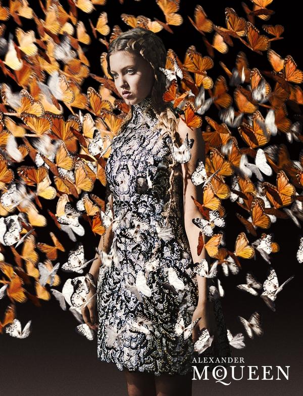 Photos of Alexander McQueen, DSquared2, Valentino, Michael Kors, Bottega Veneta, Missoni, Loewe Spring 2011 Ad Campaigns