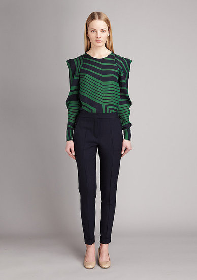 Stella McCartney Churns Out Sweater Dresses, Boxy Jackets, and Shift Dresses For Pre-Fall 2011