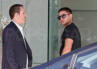 Pictures of Single Zac Efron Meeting With Agents at CAA
