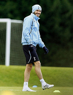 Pictures of David Beckham Practicing With Tottenham