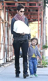Pictures of Halle Berry and Nahla Aubry Shopping Together in LA