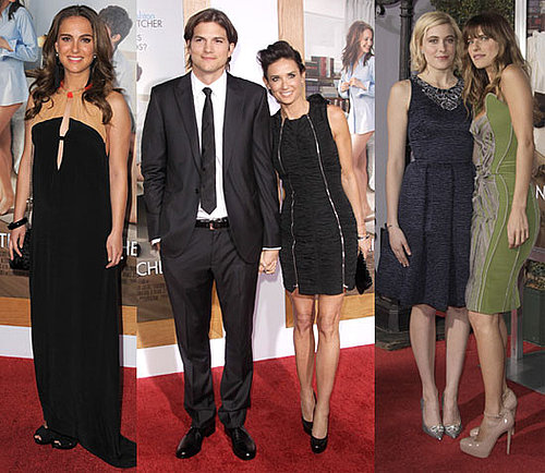Pictures of Ashton Kutcher and Pregnant Natalie Portman at the No Strings Attached Premiere in LA 2011-01-12 14:51:37