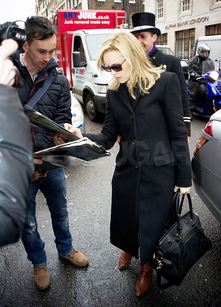 Rachel McAdams Leaves London and Sets Her Sights on Sexy Guys