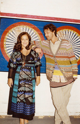 The Missoni family.
