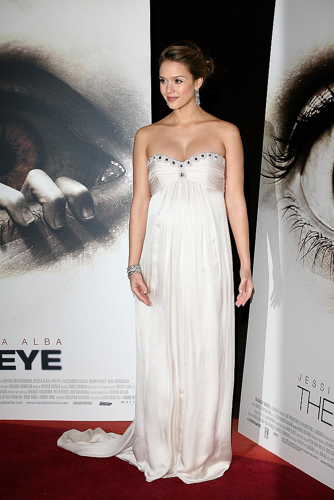 Jessica Alba: Premiere of The Eye 2008