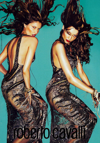 Laetitia Casta for Roberto Cavalli, by Mert Alas and Marcus Piggott