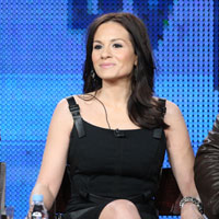 Kara DioGuardi and Jewel on Platinum Hit Panel at 2011 Winter TCA Quotes