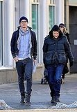 Pictures of Josh Hartnett Wearing Glasses on a Stroll in NYC
