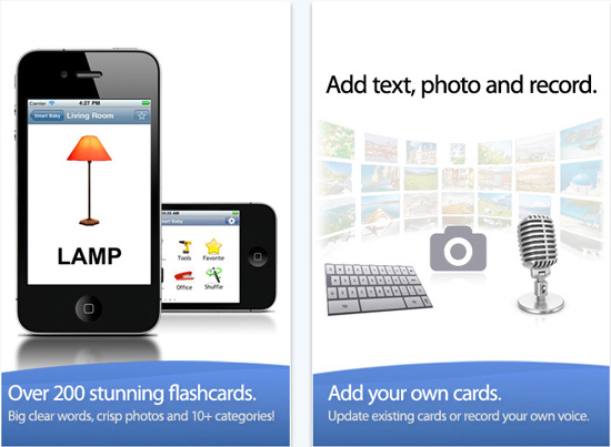 Smart Baby Apps My Home Flash Cards