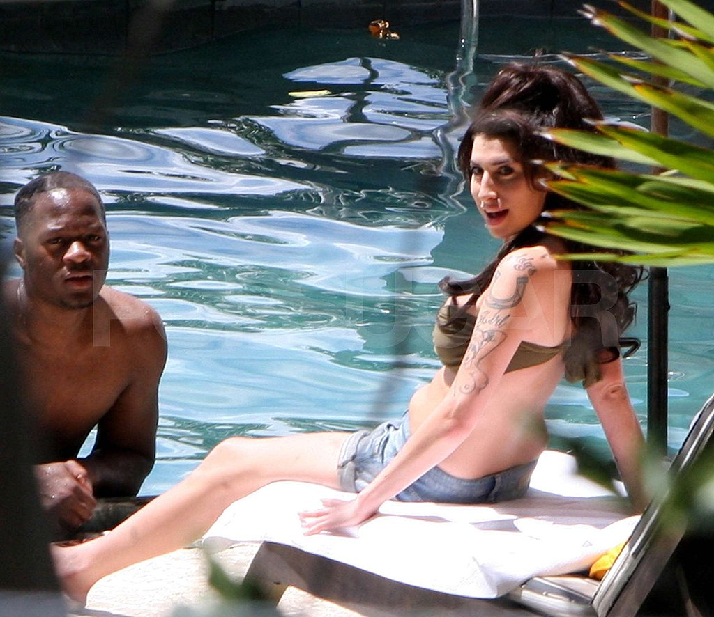 Pictures of Amy Winehouse in Bikini in Brazil Amid Tony Bennett Duet Reports