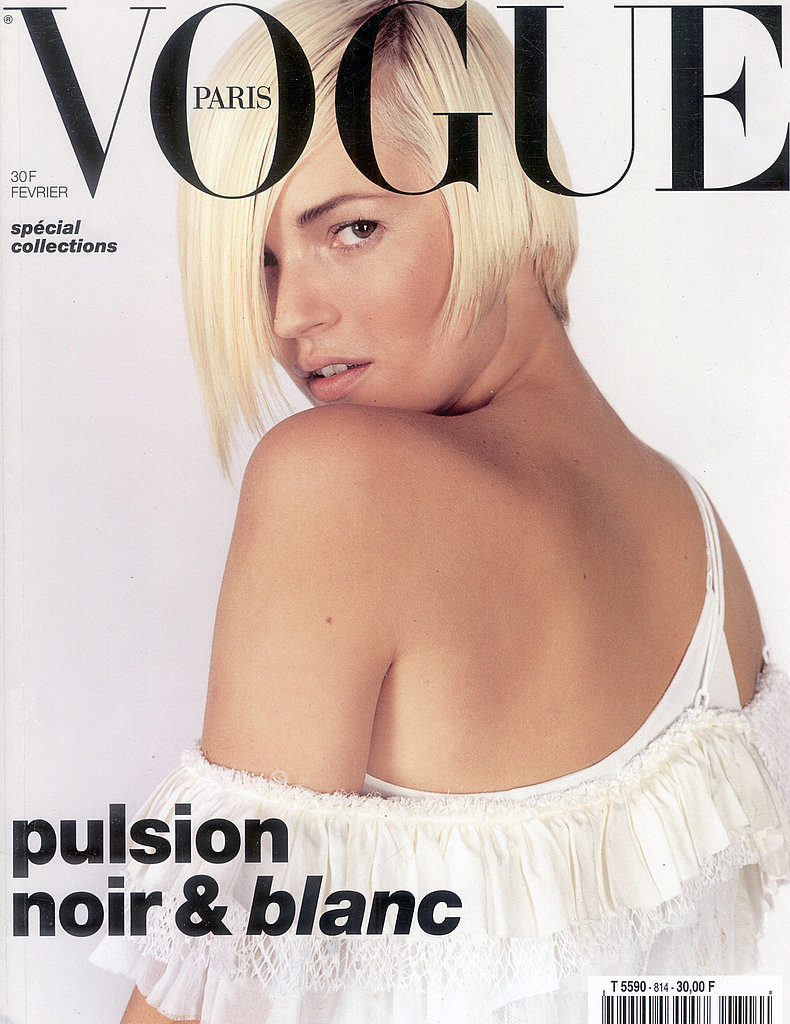 February 2001: Vogue Magazine Paris