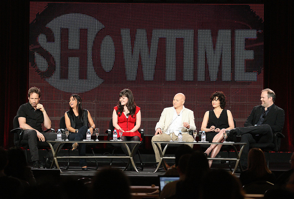 Pictures From the Californication TCA Panel