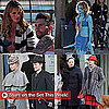 Pictures of Leighton Meester, Adam Levine, and AnnaLynne McCord on Set