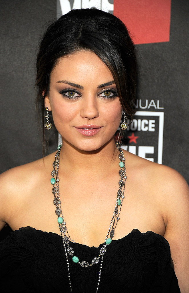 Black Swan's Mila Kunis at the Critics' Choice Awards
