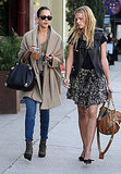Jessica Alba and Kelly Sawyer Are Ladies Who Lunch and Vacation