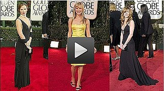Video of Iconic Golden Globe Awards Dresses