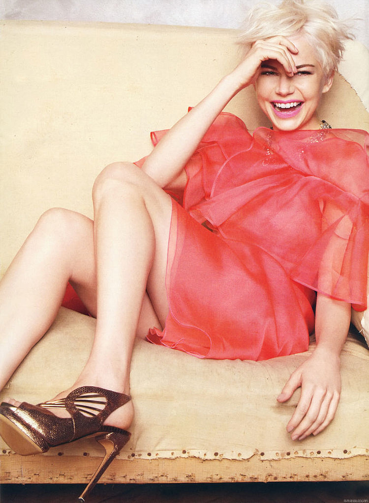 Michelle Williams Brings Some Color to Marie Claire Spread