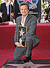 Pictures of Colin Firth Receiving His Star on the Hollywood Walk of Fame With The King&#039;s Speech Cast