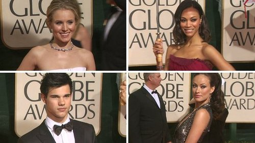 Video of the 2010 Golden Globe Awards
